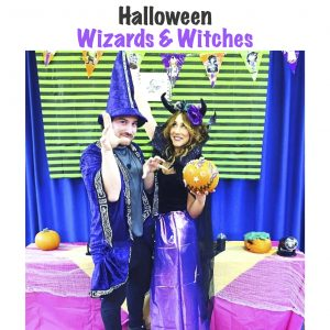 halloween wizards and witches j
